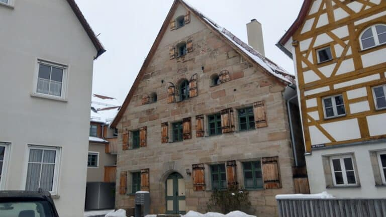 Denkmalgeschützter Altbau, Altdorf Leistung: Sanierung im Innenbereich
