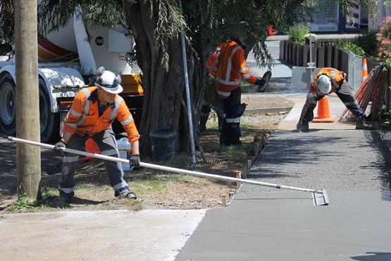 Beton und Stahlbetonarbeiten